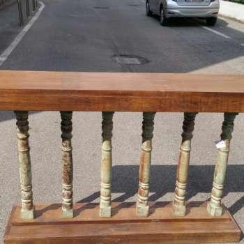Consolle legno teak