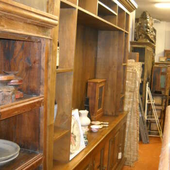 Libreria in legno teak