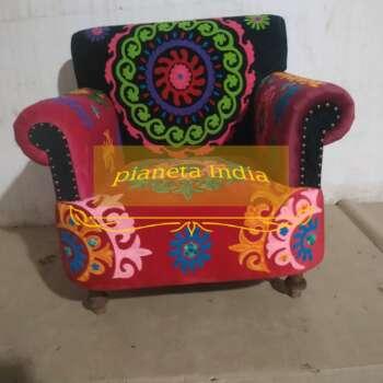 poltrona autentica indiana