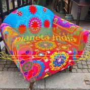 poltrona patchwork multi colored