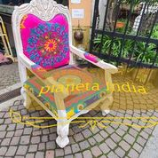 poltrona indiana multicolor